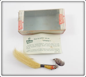 Heddon Perch Spinfin In Correct Box