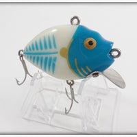 Heddon White & Blue Shore 9630 Punkinseed Ornament/Lure