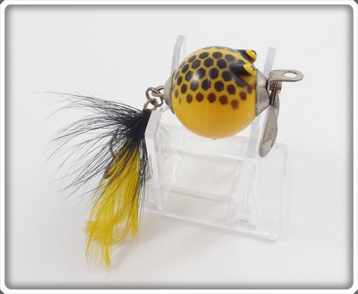 Worth Flutter Fin Yellow W/ Brown Scales