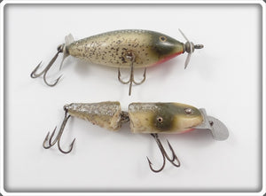 CCBC Silver Flash Pair: Spinning Pikie & Spinning Injured Minnow