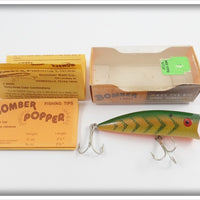 Bomber Yellow Perch Popper Rattler In Box