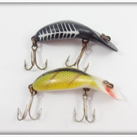Heddon Tiny Tad Pair: Perch & Black Shore