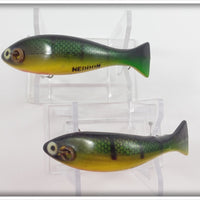 Heddon Prowler Pair: GYR Green Yellow Red