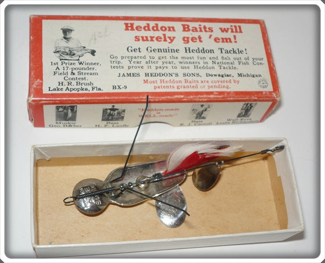 Heddon Ace Stanley In Correct Box