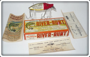 Heddon Red Head Flitter River Runt In Correct Box