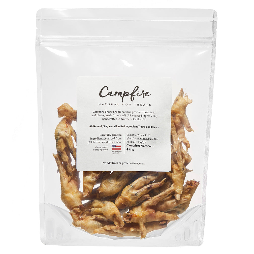 Dehydrated Chicken Feet for Dogs