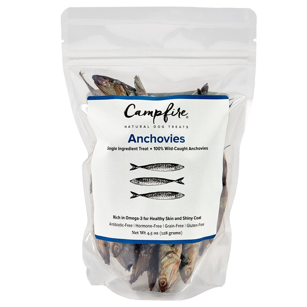 Anchovies for Dogs and Cats