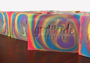 Introducing Holiday 2017 Limited Edition Kind RAINBOW Soap