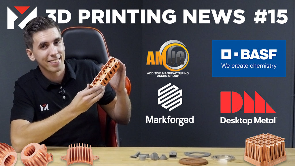Desktop Metal gets on the NYSE, Copper 3D Printing, SSYS and BASF Release Machines & Materials!