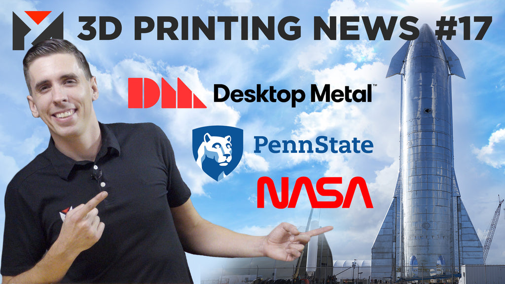 5-Axis 3D Printing, Desktop Metal NYSE, Curiosity Rover, SpaceX, Boats, and More!