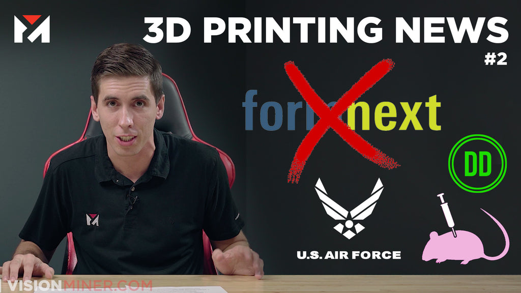 3D Printed Air Force Runways, Defcad Guns, and Formnext 2020: Cancelled?? 3D Printing News #2