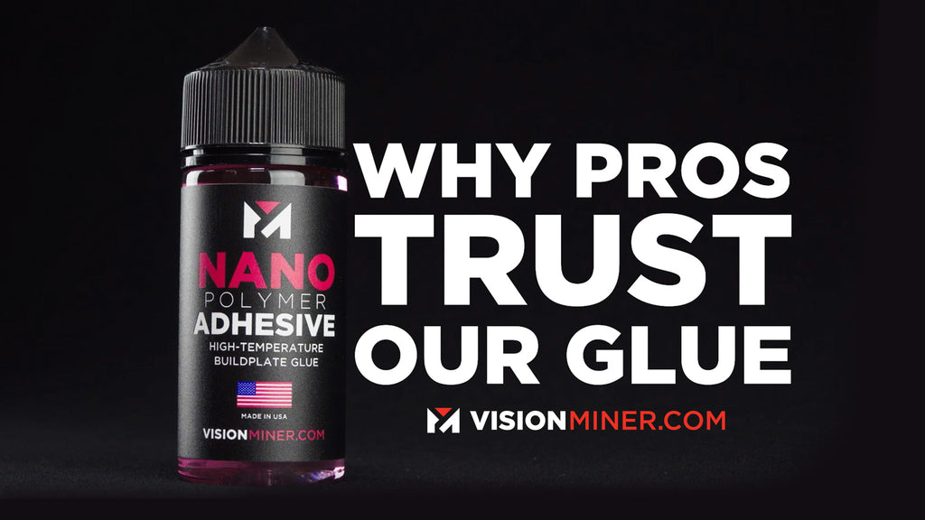 Why the Professionals TRUST Nano Polymer Adhesive for Ultimate 3D Printer Bed Adhesion