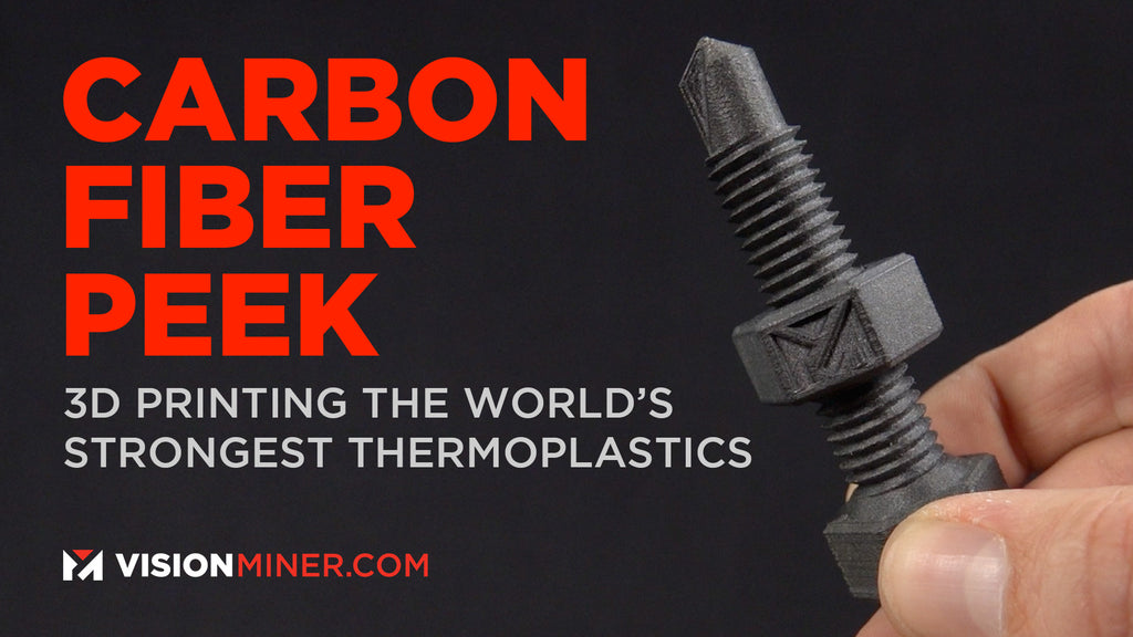All About PEEK + Carbon Fiber Composite Filament (CFPEEK): Open-Material 3D Printers 2020