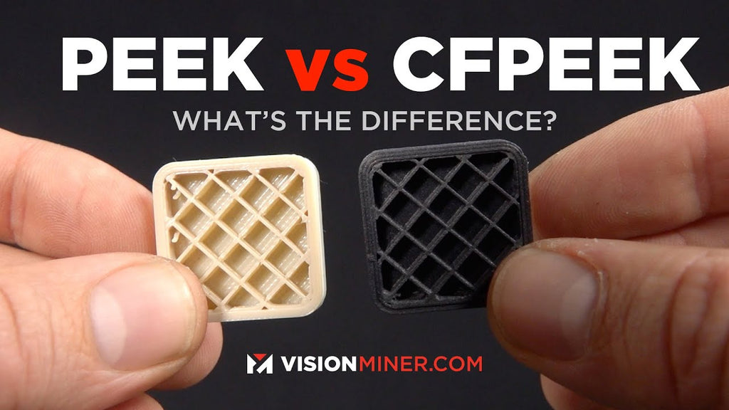 PEEK vs CFPEEK: Which is Better and Why? 3D Printing The World's Strongest Thermoplastics