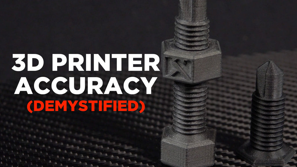 Demystifying 3D Printer Accuracy - Mechanical Limits, Theoretical Possibilities