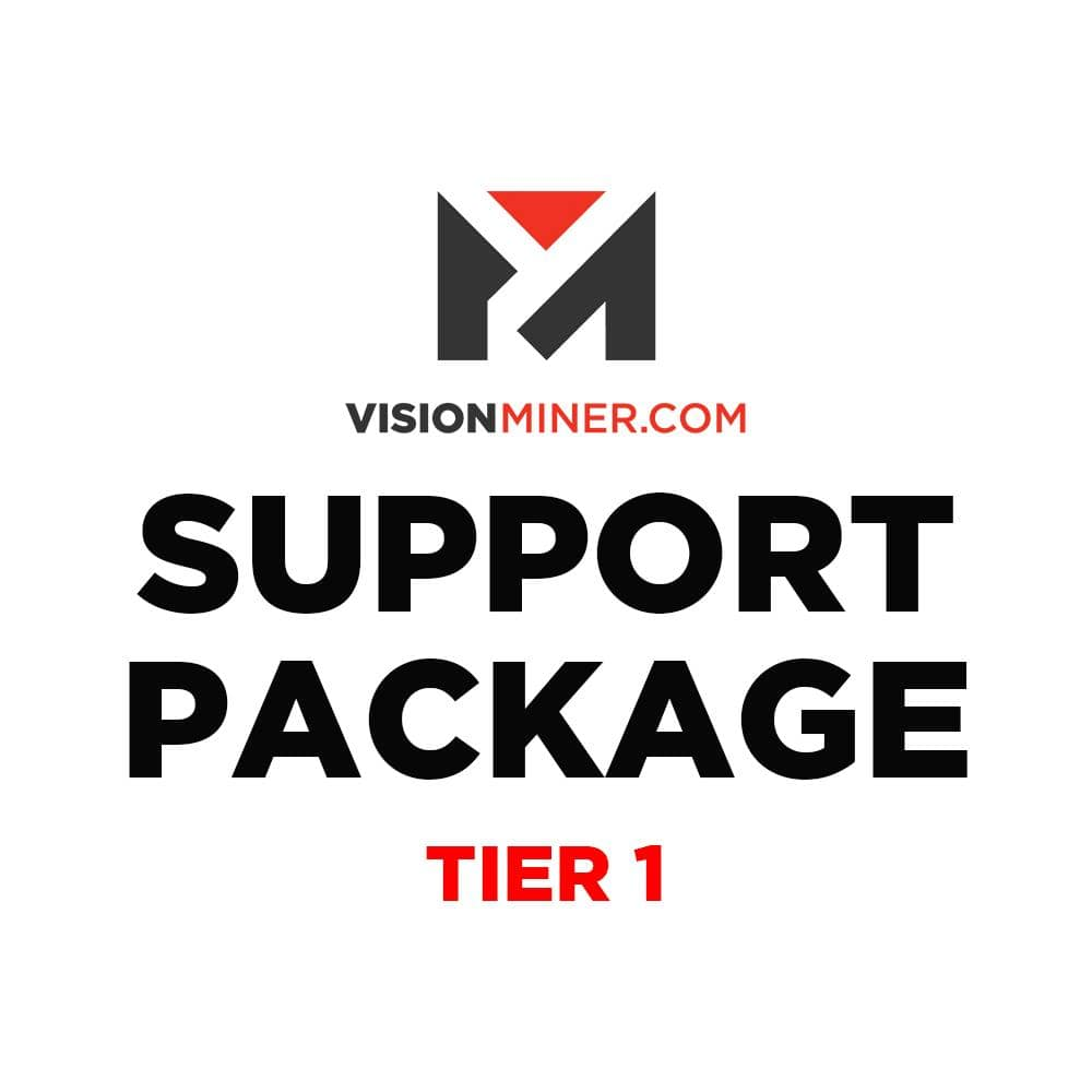 Support - Tier 1 Vision Miner Service