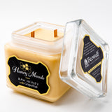 Honey Meade Candle - Raw Honey & Grapefruit - Double Wick 32 Oz