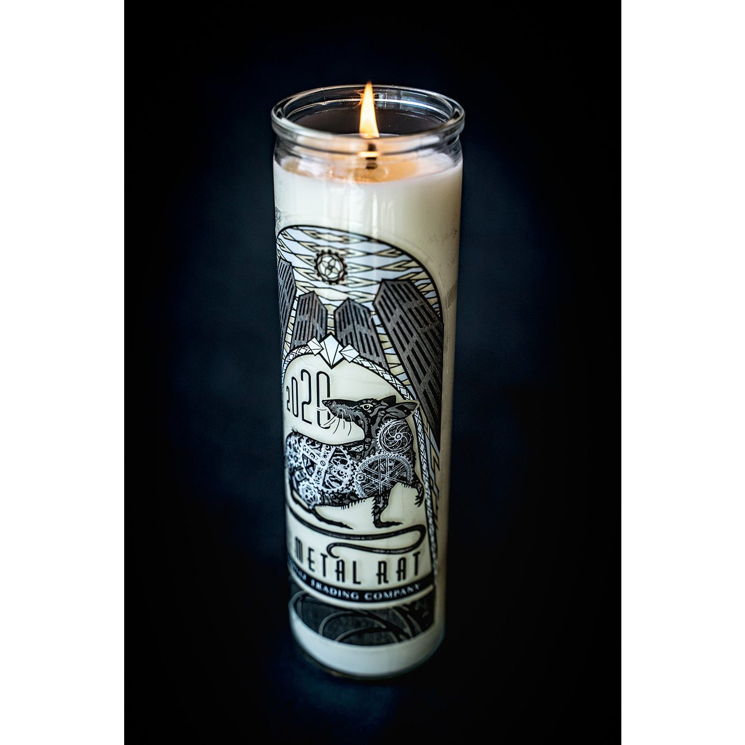 2020 Year of the Metal Rat - Celebration Candle