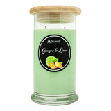 Ginger and Lime Soy Candle