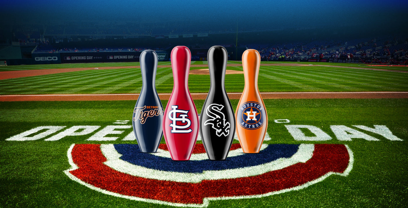Major League Baseball (MLB) Bowling Pins