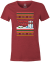 ugly bowling Christmas sweater tee t-shirt tshirt tee-shirt bowlingshirt shirt holiday gift guide season