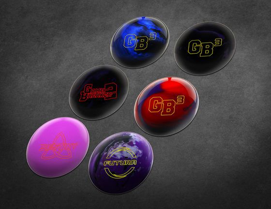 Ebonite Bowling Balls Sticker Pack
