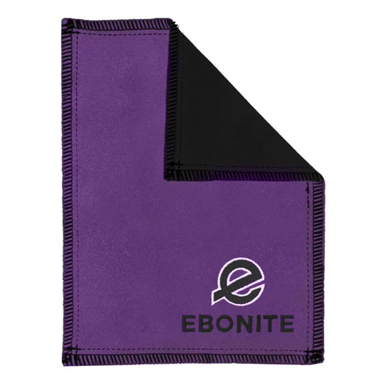 Ebonite Shammy Pad/Towel | Purple
