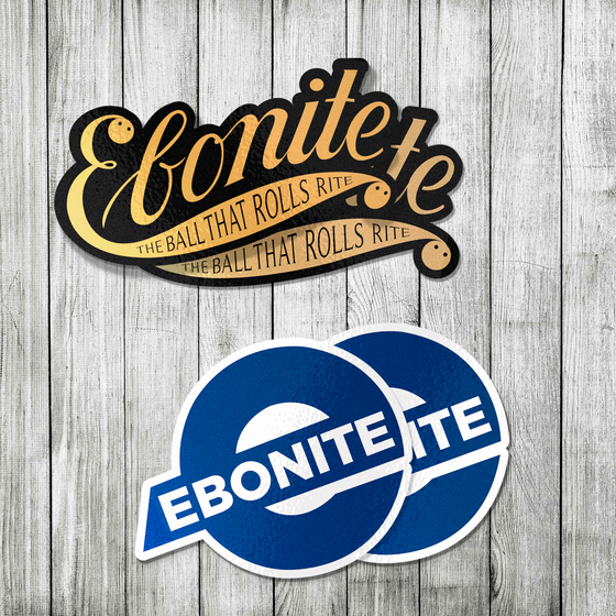 Ebonite Logo Sticker Pack