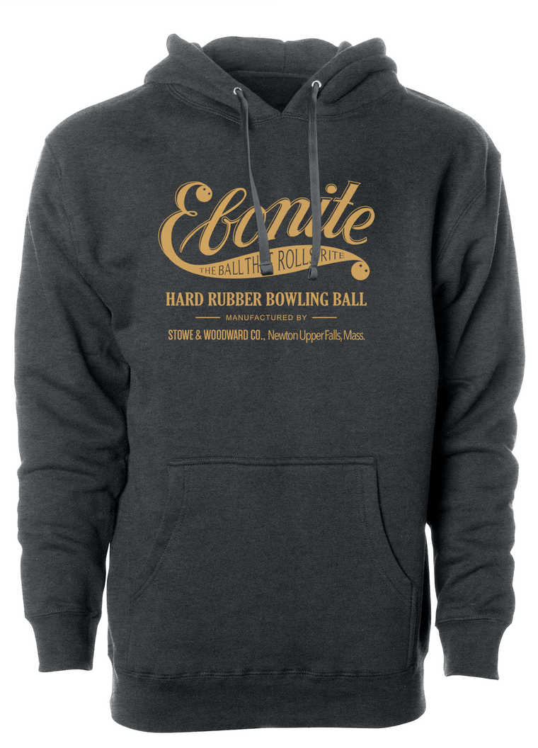 Ebonite - Vintage - Hooded Sweatshirt (Hoodie)