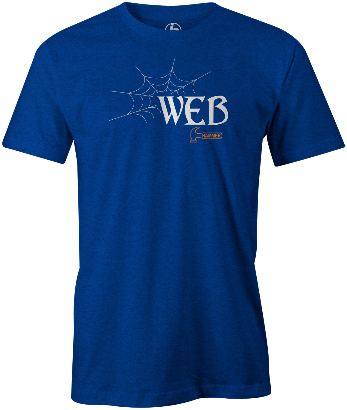 Hammer Web Men's T-shirt, Charcoal, Bowling, Bowling Ball, tshirt, tee, tee-shirt, tee shirt, web tour, black widow, bill o'neil, shannon o'keefe