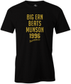 Big Ern Beats Munson 1996 Bowling Pop Culture T-Shirt Black for men