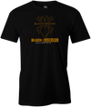 Black Widow Black Gold Men's Bowling T-shirt, Black, cool, bowling ball, t-shirt, tee, tee shirt, tee-shirt, teeshirt.