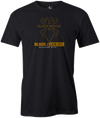 Black Widow Black Gold Men's Bowling T-shirt, Charcoal, cool, bowling ball, t-shirt, tee, tee shirt, tee-shirt, teeshirt.