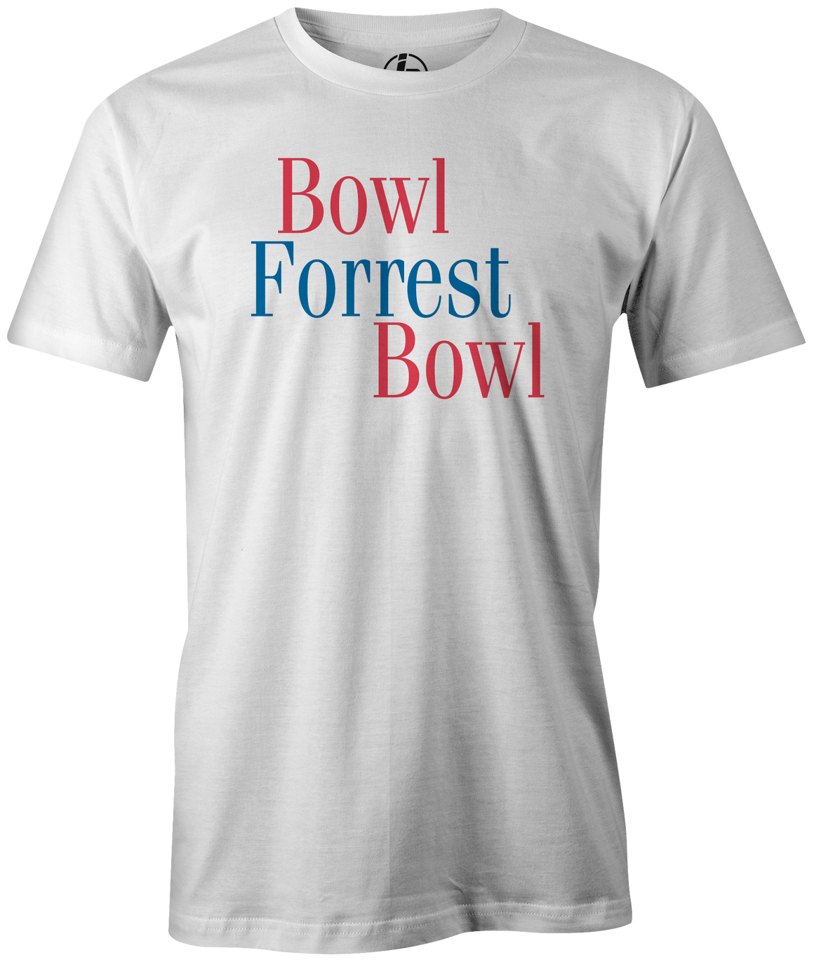Bowl Forrest Bowl Men's t-shirt, White, bowling, movie, tom hanks, forreest gump, league bowling team shirt, tournament shirt, funny, cool, novelty, vintage, classic. tee, t-shirt, tee shirt, tee-shirt, tees, apparel, merch.