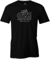 Critical Mass Men's T-shirt, Black, Bowling, Track, bowling ball, tee, tee shirt, tee-shirt, tshirt, vintage, retro, cool