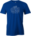 Critical Mass Men's T-shirt, Blue, Bowling, Track, bowling ball, tee, tee shirt, tee-shirt, tshirt, vintage, retro, cool