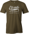 Ebonite Bowling T-Shirt Vintage Logo Army Green