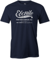 Ebonite Bowling T-Shirt Vintage Logo Black Navy