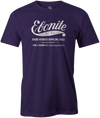 Ebonite Bowling T-Shirt Vintage Logo Purple