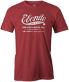 Ebonite Bowling T-Shirt Vintage Logo Red