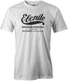 Ebonite Bowling T-Shirt Vintage Logo Black White