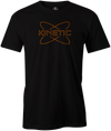 Kinetic Men's T-Shirt, Black, bowling, bowling ball, track bowling, smart bowling, tshirt, tee, tee-shirt, tee shirt