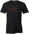 Kinetic Men's T-Shirt, Charcoal, bowling, bowling ball, track bowling, smart bowling, tshirt, tee, tee-shirt, tee shirt