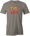 That 700's Club Bowling T-Shirt AznTheBowler Gray