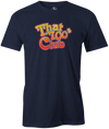 That 700's Club Bowling T-Shirt AznTheBowler Navy