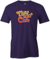 That 700's Club Bowling T-Shirt AznTheBowler Purple