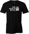 The North Bowl Pop Culture Bowling T-Shirt Black