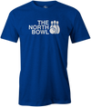 The North Bowl Pop Culture Bowling T-Shirt Blue