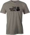 The North Bowl Pop Culture Bowling T-Shirt Gray