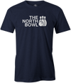 The North Bowl Pop Culture Bowling T-Shirt Navy